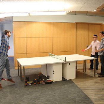 Storyblocks - Ping Pong is an office staple.