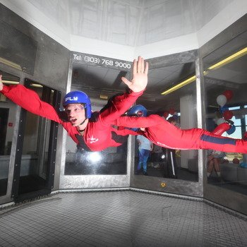 Storyblocks - We occasionally go skydiving (indoors).