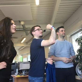 Capital On Tap - Fun and games in the office...