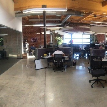 octavius labs - We work in a beautifully restored warehouse.