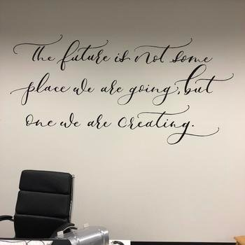 Planoly - Our motivational art wall