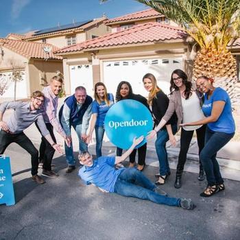 Opendoor - Team members hosting an Open House!