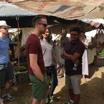 Serverless, Inc. - Exploring a Berber marketing in Marrakech during a team retreat.
