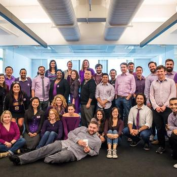 FreeWheel, a Comcast Company - Team Freewheel in all of our purple glory in honor of #SpiritDay. We support LGBTQ youth and stand against bullying!