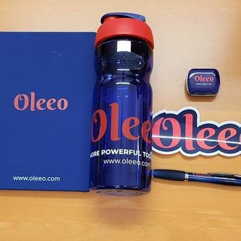 WCN - Exciting new day for WCN as we become Oleeo - great welcome present on arrival!