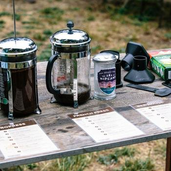 Hipcamp Inc. - Tasting local coffees at our offsite!