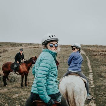 Hipcamp - Team horseback riding at Chanslor Ranch