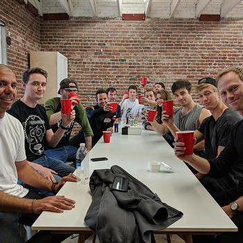 Potato Inc - We're a social bunch from going to the baseball or getting to talks about design and development. Every Friday, it's TPIF (Thank Potato) where we let our hair down and end the week with some fun.