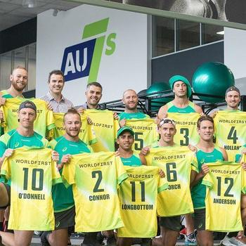 WorldFirst - Australian 7s team rocking WorldFirst