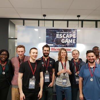 AXA FRANCE - Un escape game avec nous ça te dit ?