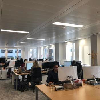 CryptoCompare - We work in a bright and open space in central London