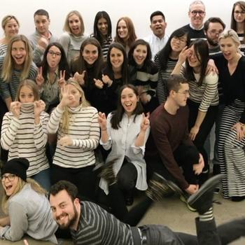 Warby Parker - Celebrating 1/11, aka Stripes Day (get it? 1/11 looks like stripes)! #teamwarby