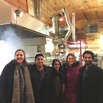 Greystone and Co. Inc - At a maple sugaring plant in New Hampshire (not sure how we got here)