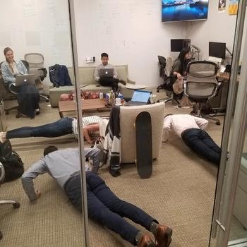 Greystone and Co. Inc - Hourly Push Up Competition