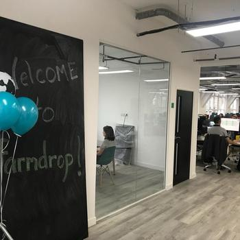Farmdrop - Our new office based near Old Street