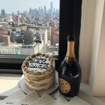 Wideorbit, Inc. - Celebrating WO's 19th Birthday with a view in our NY office!