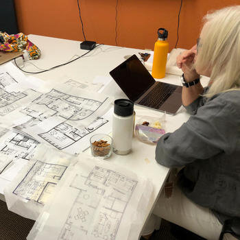 WanderJaunt - Our awesome interiors team designing some new properties.