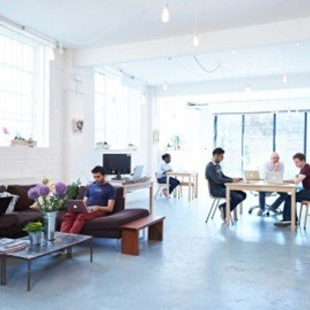 ROLI - Our HQ, Hack Cafe space - great for collaboration.