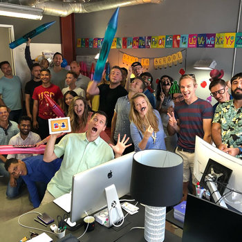 """Pray.com - Sending our interns """"Back to School"""" after a fun-filled summer"""