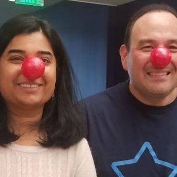 Esurance - Esurance Celebrates Red Nose Day! Meet Jon (Tech Recruiter) and Aditi (Sr. Mgr., Business Intelligence)