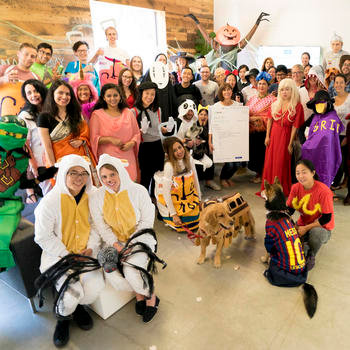 Khan Academy, Inc. - We get creative with Halloween costumes and each year just gets better and better!