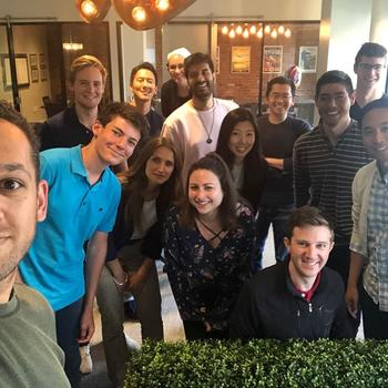 LoungeBuddy - Celebrating the last day for our two summer interns @ LoungeBuddy HQ