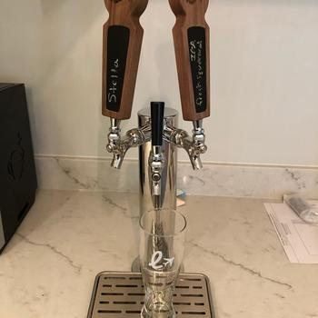 LoungeBuddy - Kombucha and beer on tap in the kitchen