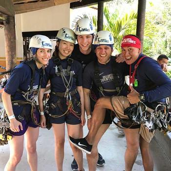 LoungeBuddy - Ziplining Adventure!