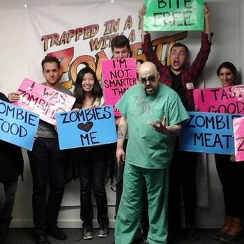 LoungeBuddy - Zombie Escape Room team activity