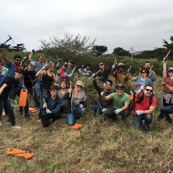 Health Fidelity - Volunteering with Golden Gate National Parks