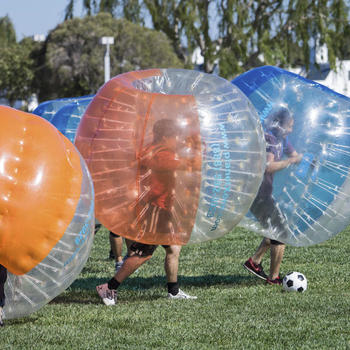 Health Fidelity - Bubble Soccer