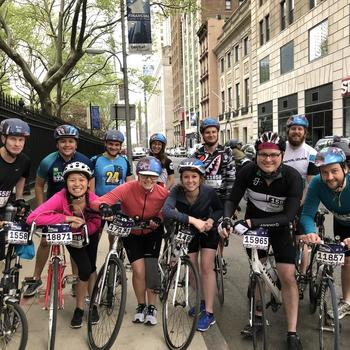Mark43 - Mark43 and friends cycling club at the Five Borough Bike Tour - 2018