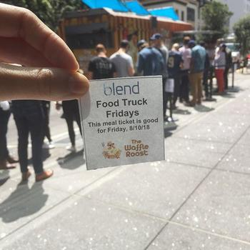 Blend - Introducing Food Truck Friday's this year to Blend's amazing weekly catered lunches and dinners.
