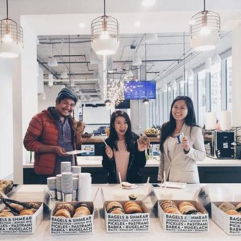 Blend - Celebrating our feature in the Wall Street Journal with some New York coffee and bagels at our brand new HQ in SF. Read all about our $100mm Series D from Greylock and how we're helping power Wells Fargo and U.S. Bank.