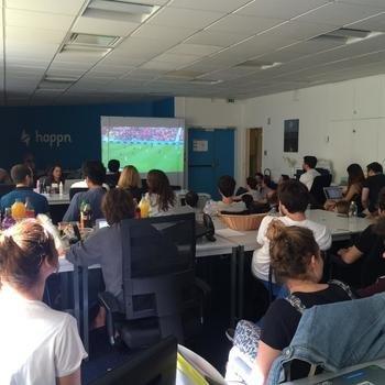 Happn - happn en période de Coupe du Monde!