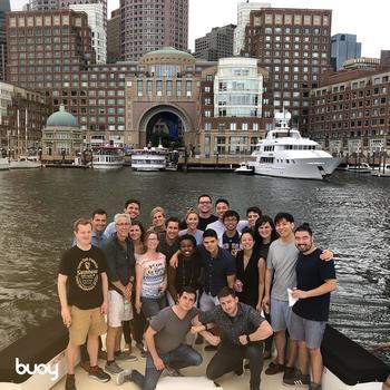 Buoy Health - Company boat cruise!