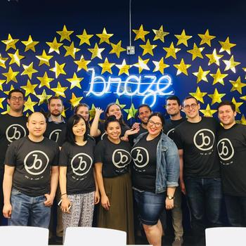 Braze - Celebrating the launch of our Singapore office!