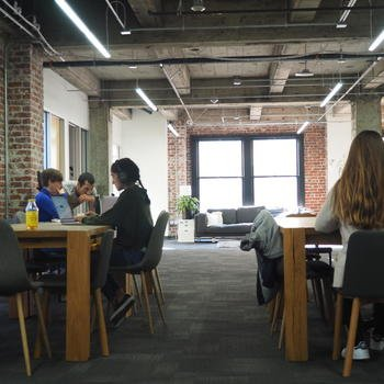 Even - The flexible space means we often mix and mingle with other teams