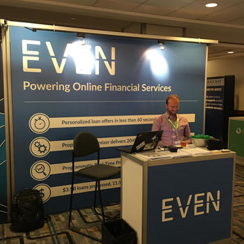 Even Financial - Booth at convention