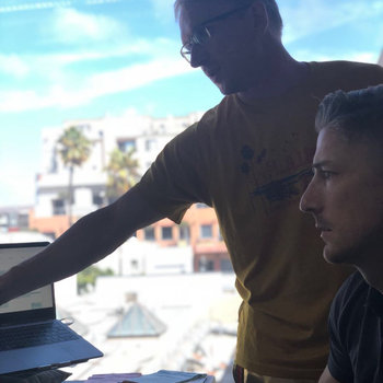Pray.com - Working hard, feels like hardly working with that Santa Monica view