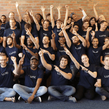 Luno - The growing Luno team (we're now at over 150)