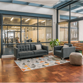 Luno - Our office has lots of breakout spaces for collaboration