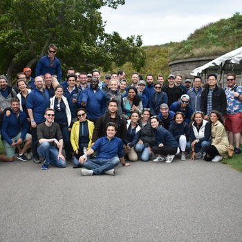 Veson Nautical LLC. - Our Boston team recently celebrated the company's 15-year anniversary with a clambake at George's Island!