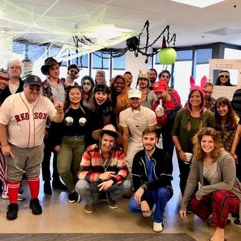 Novelty Media - The spooky spectacular Halloween celebrations in the office!