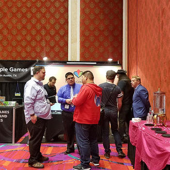 CrystalCommerce - The CrystalCommerce team hard at work at the GAMA trade show in Reno, NV.