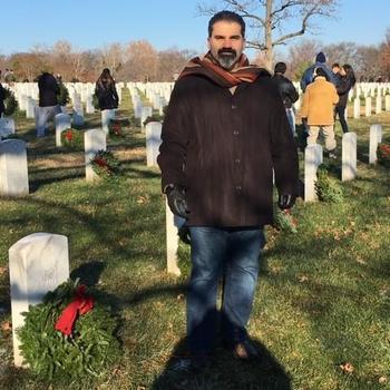 Dante Consulting, Inc. - Volunteering at Wreaths Across America at Arlington National Cemetery