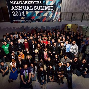 Malwarebytes - Malwarebytes - Worldwide Corporate Summit (Jan 2014) - Dogpatch Studios, San Francisco