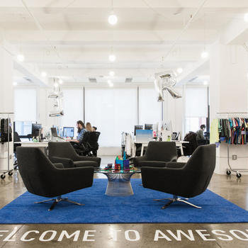 Rockets of Awesome - Welcome to Awesome — our bright, open headquarters in Flatiron.