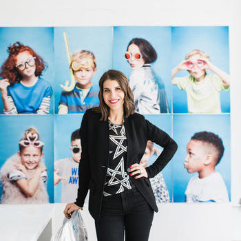 Rockets of Awesome - Our founder, mother of 2, Rachel Blumenthal.