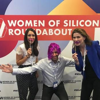 YOYO WALLET LIMITED - Our team out and about at Women of Silicon Roundabout!